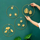Round Wall Hanging Ornament Iron Creative Home Bedroom Decor Accessories