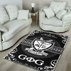Traditional Groove Phi Groove Black 3D New Item Area Rug