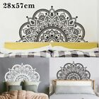 Mandala Vinyl Wall-sticker Decals Home Bedroom Headboard-decor Removable 28*57cm