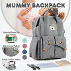Mummy Backpack Baby Diaper Bag Nursing Changing Pad Nappy Bags Shoulder K NEW