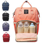 Chic Mummy Travel Backpack Large Capacity Maternity Nappy Travel Diaper  NEW