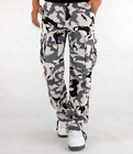 Mens Casual Outdoor Camouflage Pants Camo Cargo Military Work Trousers Fashion