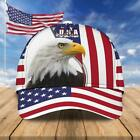 USA Eagle American Flag Independence Day Classic Baseball Cap