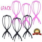 Portable 6Pack Wig Hat Cap Stand Holder Mannequin Dummy Head Stable Display Tool