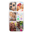 Personalised Phone Case For iPhone 11/12/MAX/XR/X, 1-6 Photo Collage Hard Cover