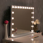 Luxury Hollywood LED Vanity Mirror with Light 13/16/20 Bulbs Makeup Table Mirror