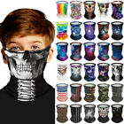 Toddler Kids Girls Boys Face Cover Balaclava Hat Neck Tube Scarf Snood Outdoor
