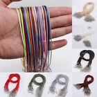 10pcs Adjustable Leather Cord Braided Rope Necklace Pendant String Diy Handmade