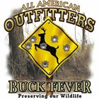 "Deer Hunting ""BUCK FEVER.."" 50/50 Gildan/Jerzees T SHIRT"
