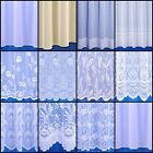 Choice Of Contemporary Net Curtains Sold By The Metre - Free Postage