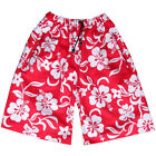 Mens Flower Board Designer Swim Skate Long Sports Shorts Surf Skate Trunks New