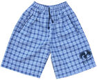 Mens White Surf Skate Check Swim Board Sports Swimming Designer Shorts New