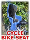 Cycle Bike Rear Child Seat upto 22kg Various Colours