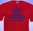 HM Prison Australia T-Shirt Cricket or Rugby or Football Joke MENS / unisex