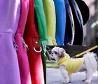 Gooby Dog Hoodie Harness - Small & Med Breeds only - Fleece Pullover Hoody