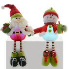 Festive 48cm Sitting Character With Light Up Tummy Mantle Piece Xmas Decoration