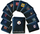 NFL Trifold Leather Wallet - Pick Team