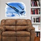 F-5 Aggressor Jet Fighter Plane WALL GRAPHIC FAT DECAL MAN CAVE BAR ROOM DECOR