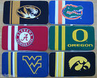 NCAA Shell Mesh Jersey Clutch Hard Flat Women Wallet ( Pick Your Teams )