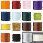 100 Feet of 1mm Imitation Silk Beading Cord~Macrame Cording for Beads & Jewelry