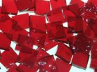 RUBY RED GRANITE handcut stained glass mosaic tiles #400
