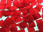 CHERRY RED CATHEDRAL handcut stained glass mosaic tiles #28