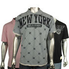 Mens Projekts NYC Designer Fashion Graphic Polo Shirt Top Tee T-Shirt Size S-L