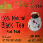 Black Tea Chinese Herbal Royal King 20 or 100 Tea Bags
