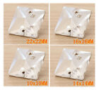 20pc Faceted Square Glass Crystal Sewing On R42