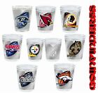 NFL Football 2 OZ Shot Glass 3D Wrap High-Def Print - Pick Team