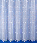ZURICH SWIRL DESIGN FINE NET CURTAIN - SOLD BY THE METRE - MULTIPLE DROPS