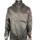 Mens Puma Ducati Grey Windbreaker Hooded Jacket Motorsport Coat Size S-XXL
