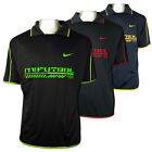 Mens Nike Dry Dri FIT Football Running Shirt Training Top Gym Polo Tee Size XS-X