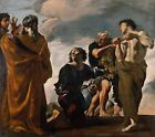 Moses Messengers From Canaan Giovanni Lanfranco Italian 1582 1647 Poster 200gm