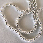 "2.0 MM Shiny 925 Sterling Silver Popcorn Link Chain 3.6 Grams 18"" & 20""  Lengths"