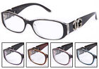 NEW Women Clear Lens Glasses Translucent  5 Colors To Pick Fashion Designer