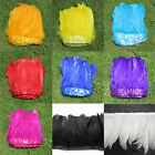 New 50pcs 6-7 inchs long SWAN SHOULDER FEATHERS dyeing 9 color for Craft Supplie