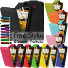 LEATHER FLIP CASE COVER FITS HTC DESIRE C FREE SCREEN PROTECTOR