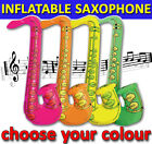 INFLATABLE SAXOPHONE FANCY DRESS SAX MUSICAL INSTRUMENT COSTUME PARTY ACCESSORY