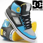 DC SHOES men's SPARTAN HI WC HIGH trainers TURQUOISE / ARMOR ARQ skate new