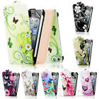 NEW STYLISH LEATHER FLIP CASE COVER FOR APPLE IPHONE 5 5G FREE SCREEN PROTECTOR