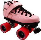Sure Grip Rebel Speed Roller Skates pink Sizes 1-10