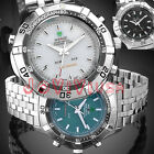 3 Styles Selectable Casual Day Quartz Analog & LED Digital Wrist Watch