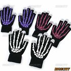 New Cool Unisex Skull Bone Magic Touch Screen Gloves for iPad iPhone Smart Phone