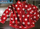 MiNNie MoUSe~Face~SoFt~JACKET~ReD~InFanT~Baby~0-24M~Costume~DisneyLand