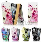 NEW STYLISH LEATHER FLIP CASE COVER FOR APPLE IPOD TOUCH 5TH GEN  SCREEN GUARD