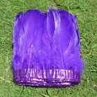 1&2 yards 6-7 inchs long SWAN SHOULDER FEATHERS dyeing 9 color for Craft Supplie