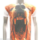 si42 SINTHESIS T-shirt Sz M L Tattoo Wild Forest Animal Monster Fixed Gear Rider