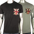 Mens Ben Sherman Union Jack Mod Fit Sixties 60s Indie Skin Retro T-Shirt Tee