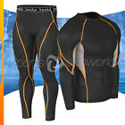 New Mens Compression Under Base Layer Gear Shorts Wear Shirt & Pant R09P06BO